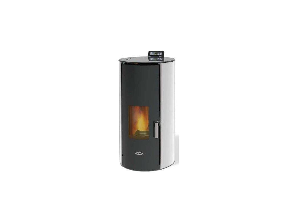 6be8da10446 Kalor Redonda Glass Idro 20 - peletová kamna s výměníkem - CENTRUM ...