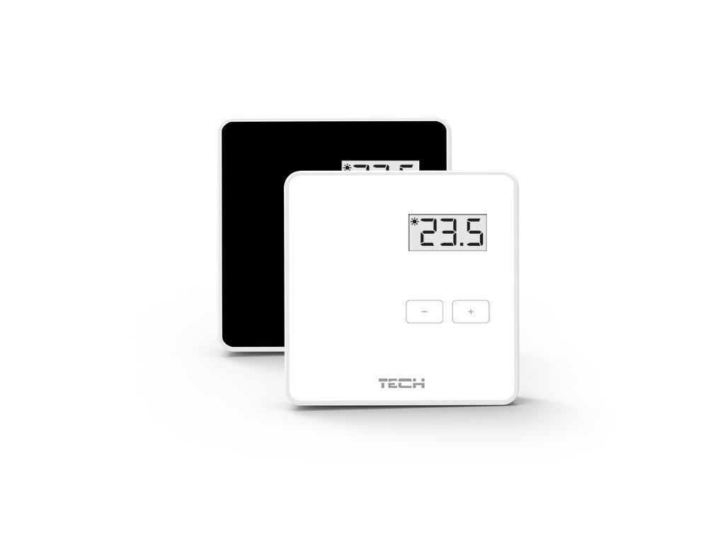 TECH CS-294v1 - dvoupolohový pokojový termostat drátový