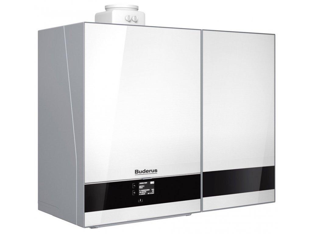 Buderus Logamax Plus GB192-30i T40S Plynový kondenzační kotel - bílá