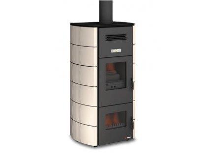 UNGARO 2 FIRE CLASSIC - Krbová kamna na dřevo a pelety s teplovodním výměníkem