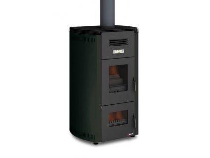 UNGARO 2 FIRE STYLE 34kW - Krbová kamna na dřevo a pelety s teplovodním výměníkem