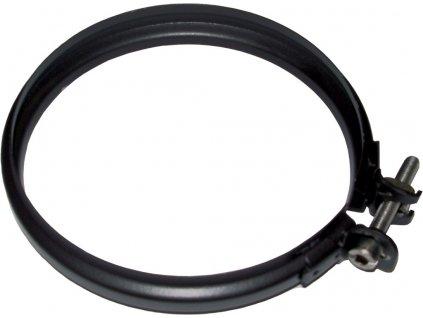 Fixační spona 80 mm - kouřovod pro peletová kamna