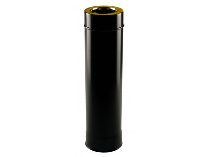 Izolovaná roura 80/130/1000 mm - kouřovod pro peletová kamna