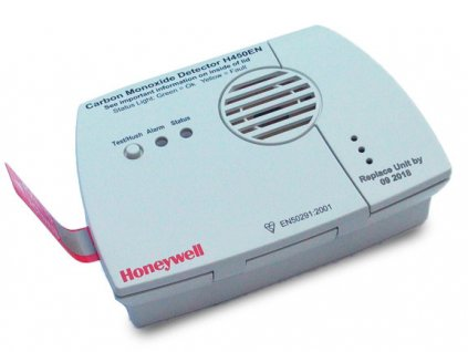 Honeywell detektor úniku CO