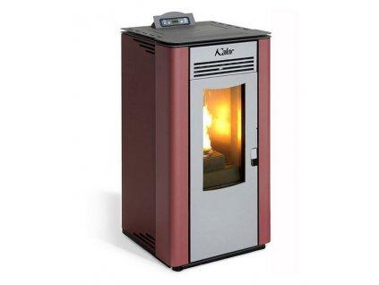 Kalor Lara 12 C - Teplovzdušná peletová kamna s rozvodem horkého vzduchu