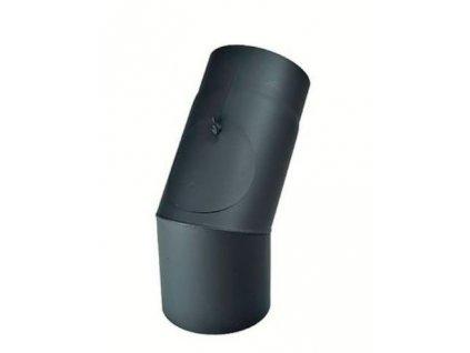 Kouřovod - koleno - pevné s čistícím otvorem pr. 130 (45°)