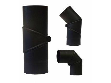 MORAFIS kouřovod - koleno otočné Ø130mm/90-180°
