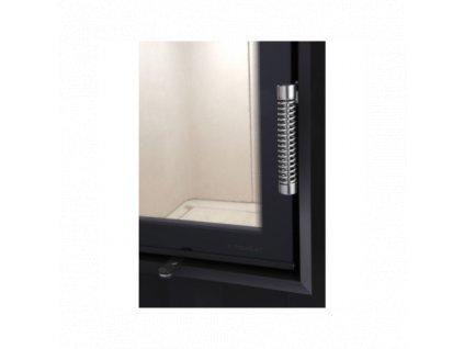 Hoxter - Krycí rám 50/35/45Rh pravá horní zdvih šestistranný 1 x 90°60 mm černý