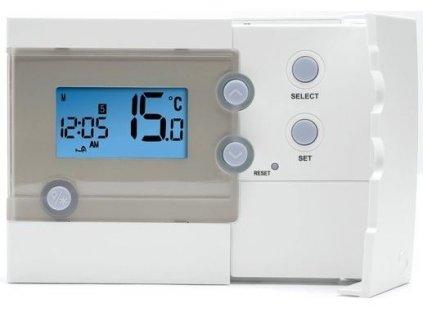 Termostat SALUS RT500 programovatelný týdenní s podsvíceným displejem, 0-230V, 3A, 0,5°C