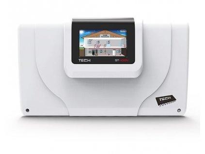 TECH CS-408n - regulace pro 2 směšovací ventily
