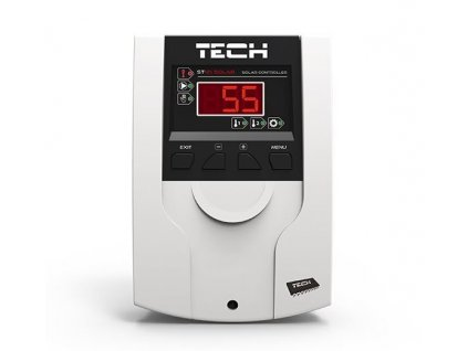 TECH CS-21 Solar - regulace pro sluneční kolektory