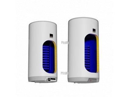 DRAŽICE Ohřívač vody OKC 125l kombinovaný nástěnný svislý, model 2016 (Energ. třída: C)