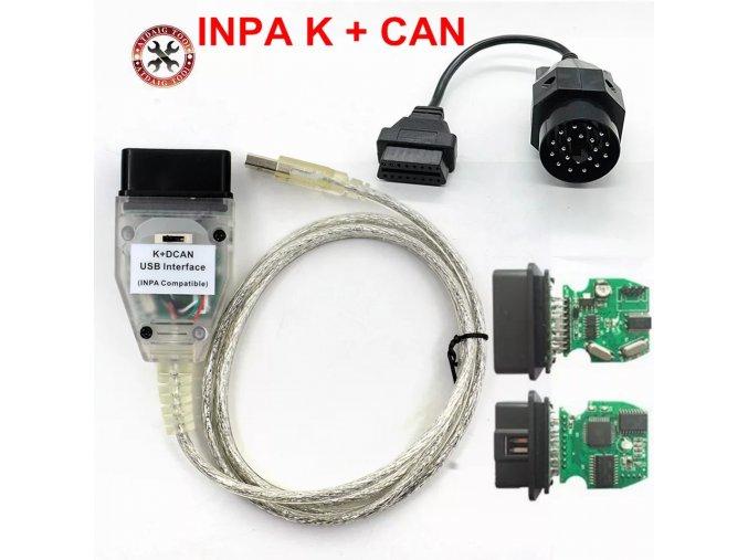Diagnostika BMW INPA K+DCAN s přepínačem