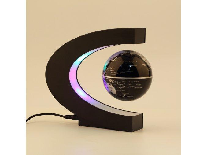 Elektronický levitující globus s LED svícením