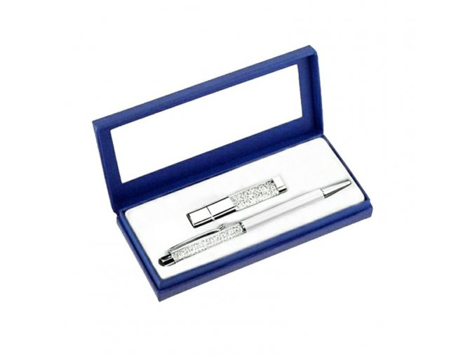 Swarovski pero a USB disk