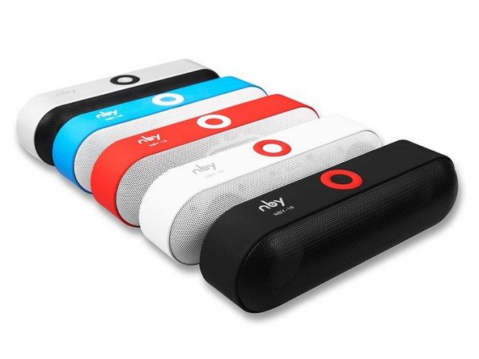 Bluetooth přenosný reproduktor 3D super bass, USB,AUX,SD