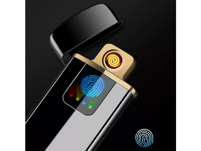 USB dotykový elektrický zapalovač