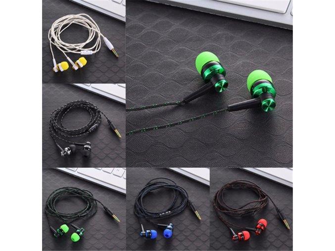 Vysoce kvalitní sluchátka s vysokými basy