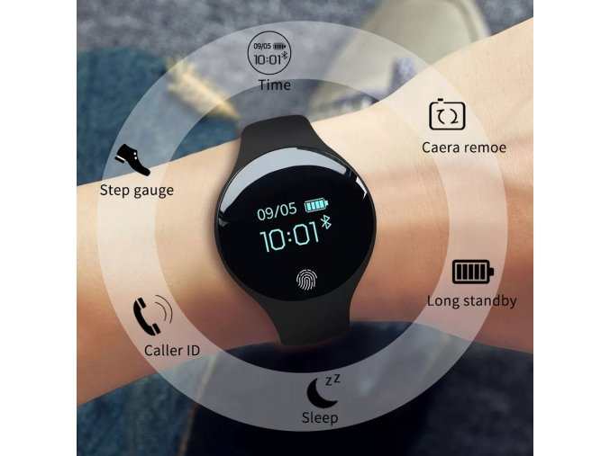 Chytré stylové hodinky s Bluetooth