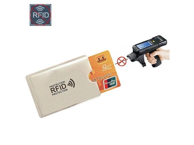 Ochranné pouzdro kreditní karty
