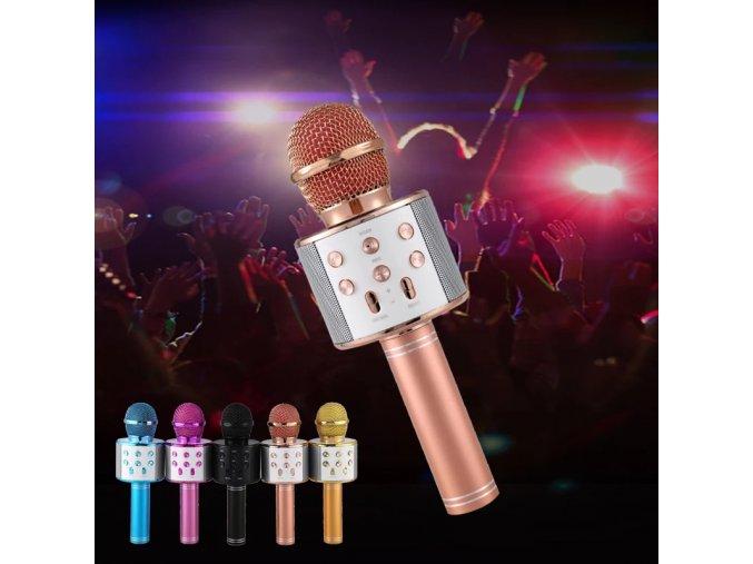 Karaoke bluetooth mikrofon