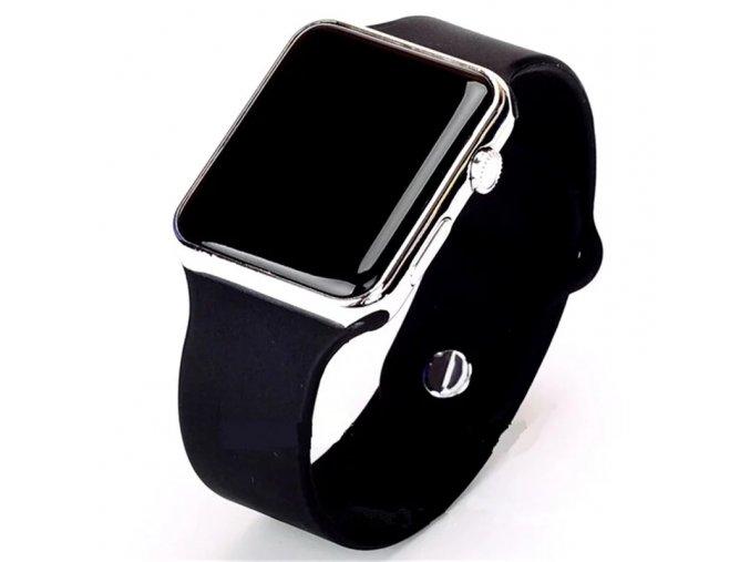 Stylové LED hodinky