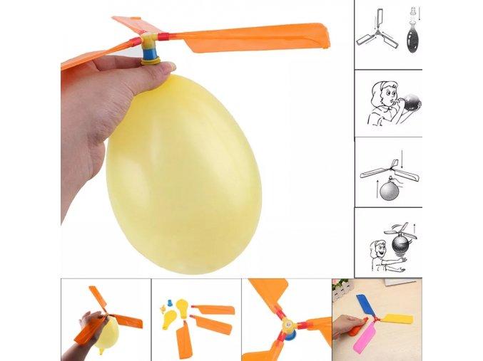 Balónkový vrtulník