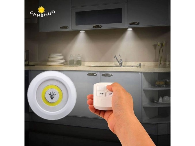 Stmívatelné LED osvětlení na dálkové ovládání