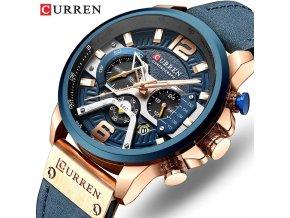 Pánské vodotěsné hodinky Curren Chronograph