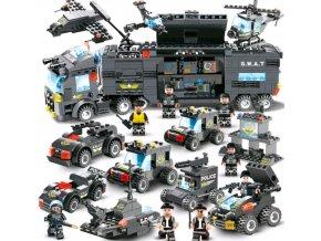 Dětská stavebnice SWAT Team, Policie