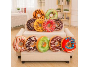Polštář Donut, 15 druhů