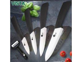 Sada 5-ti dílná keramických nožů se zirkonovou čepelí