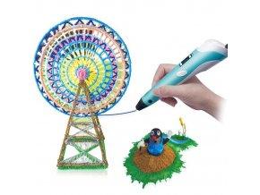 3D tiskové pero s LCD displejem