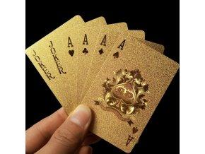 Kvalitní zlaté karty