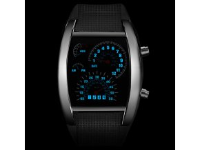 LED módní hodinky Speed