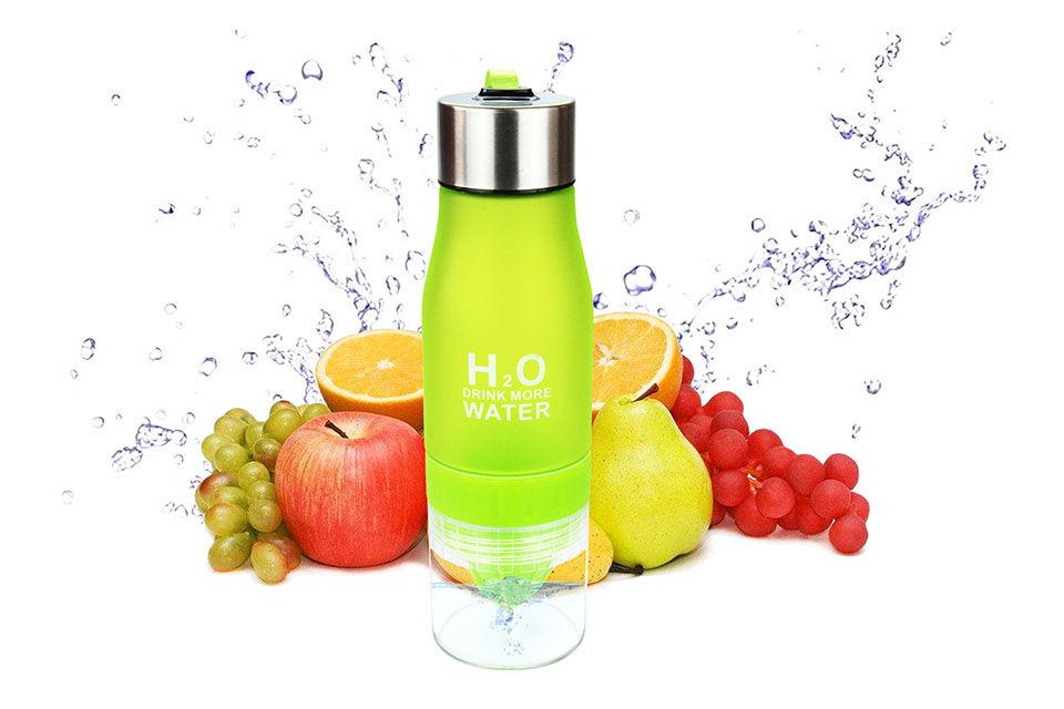 Láhev na vodu a ovoce - Poštovné zdarma Barva: Žlutá