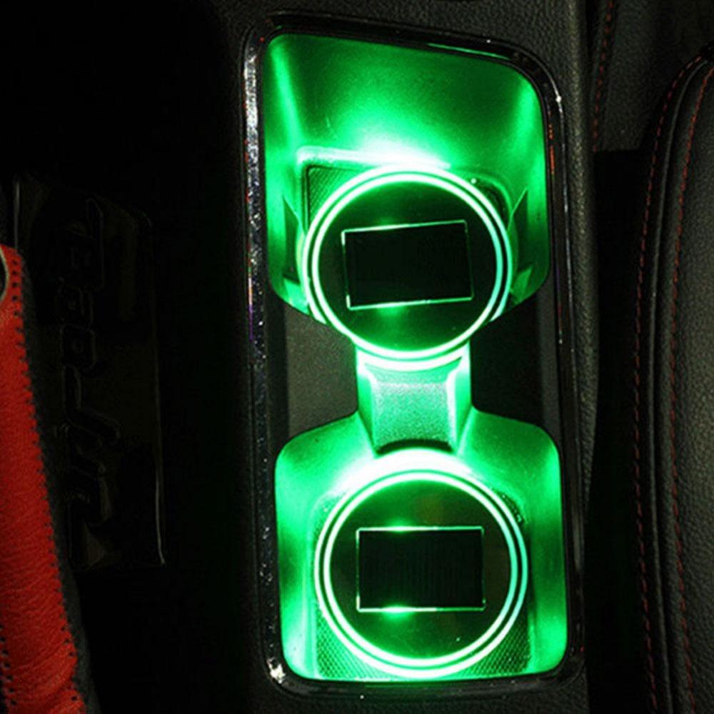 Solární osvětlení držáku nápojů - Poštovné zdarma Barva: Zelená