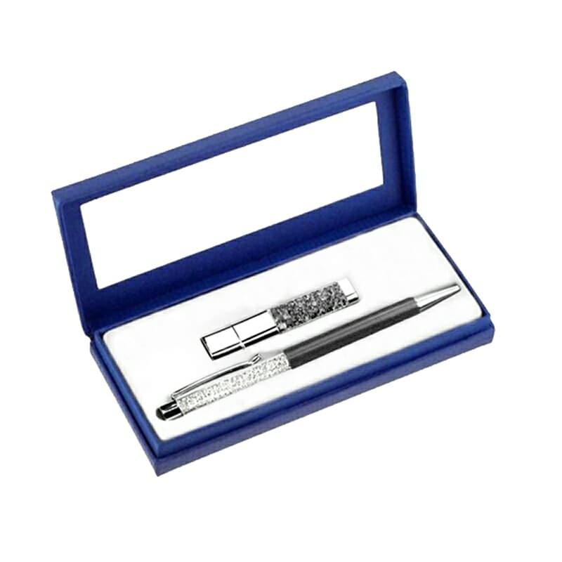 Swarovski pero a USB disk - Poštovné zdarma pořadí: 2