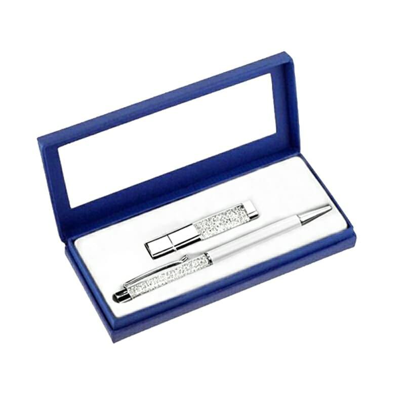 Swarovski pero a USB disk - Poštovné zdarma pořadí: 1
