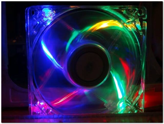 Led PC větráček - Poštovné zdarma
