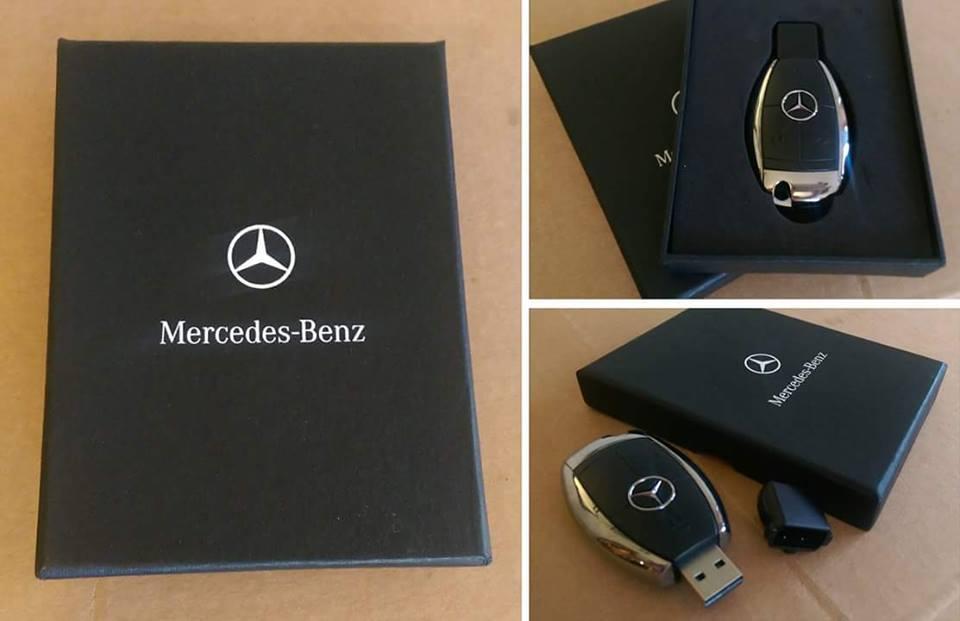 Mercedes Benz USB flash disk 16gb - Poštovné zdarma