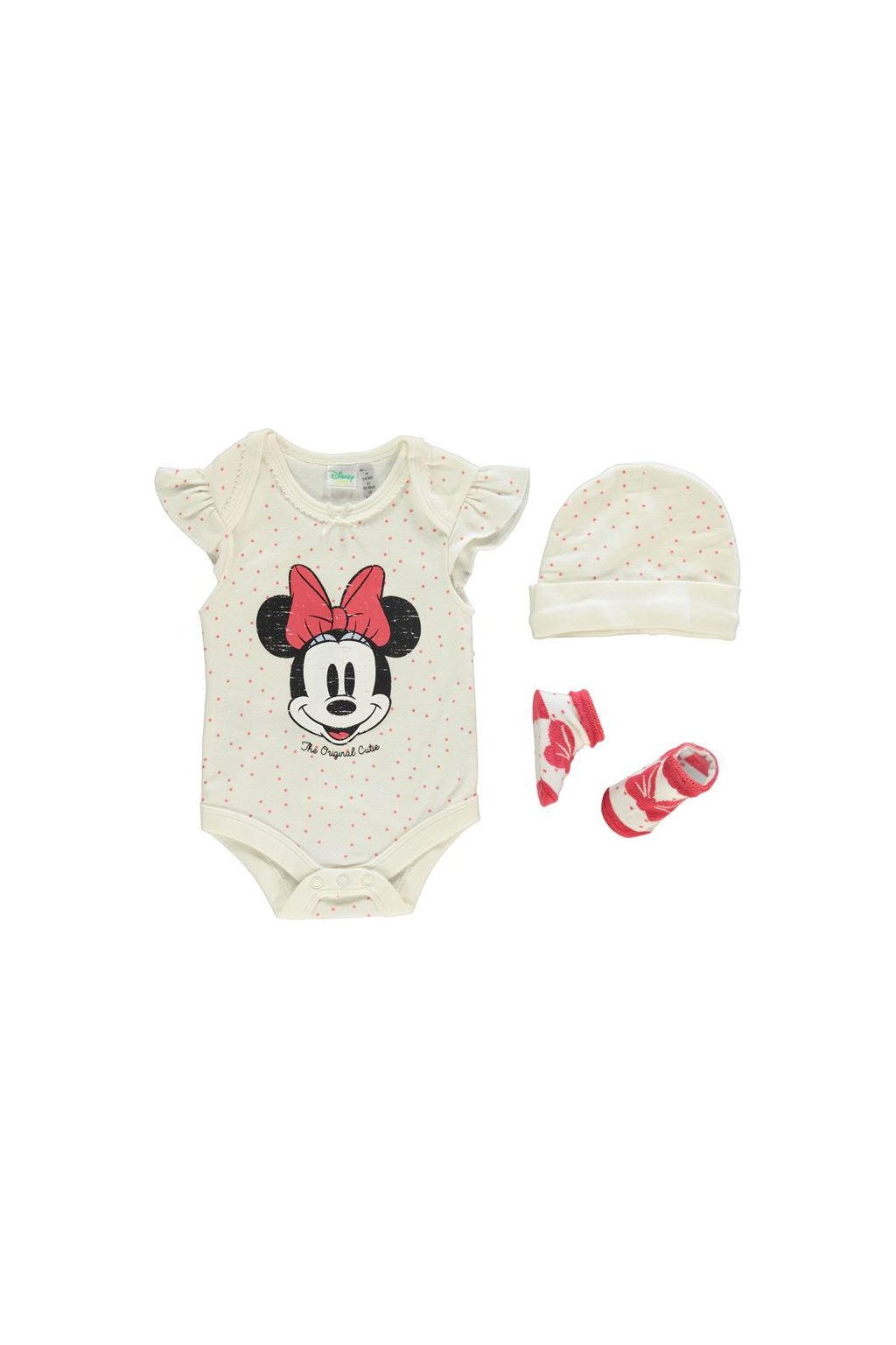 DISNEY 3 pack Romper Suit baby set
