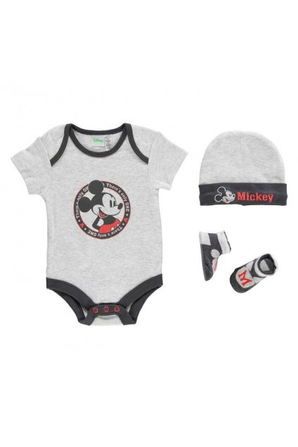 DISNEY Mickey Mouse 3 pack Romper Suit baby set.jpg