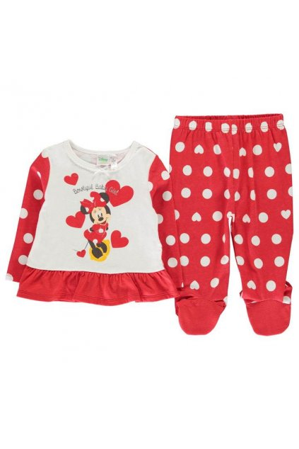 DISNEY MinneyMouse Xmas pyjama set