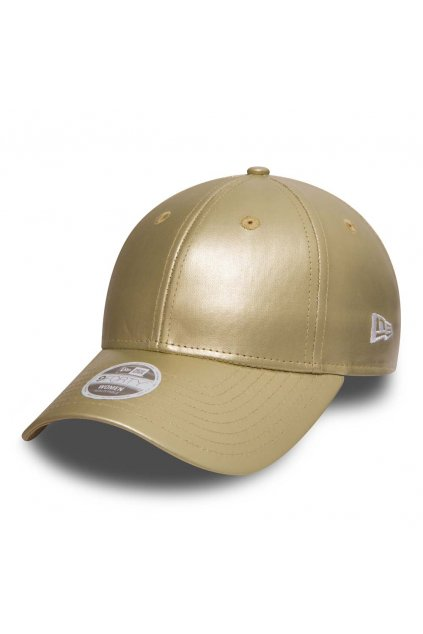 NEW ERA WOMENS METALLIC GOLD 9FORTY 1