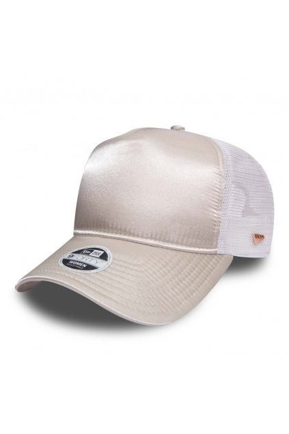 NEW ERA PREMIUM WOMENS STONE AND GOLD TRUCKER1