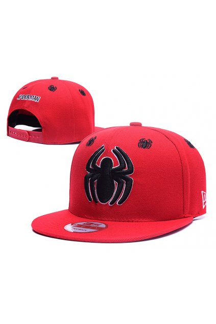 newera spiderman red