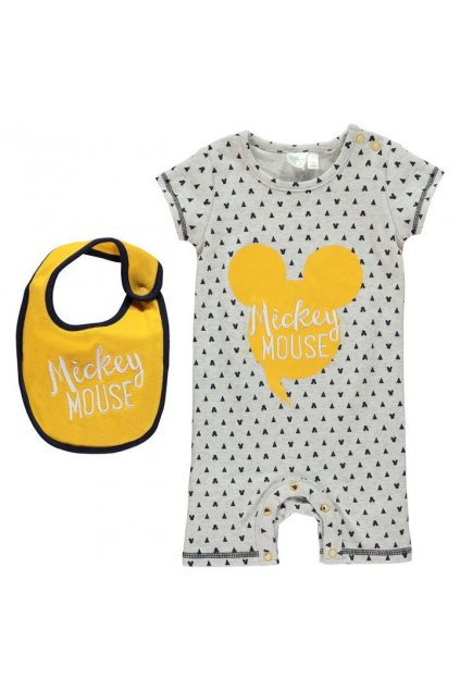 DISNEY Short Sleeve Romper Suit Baby