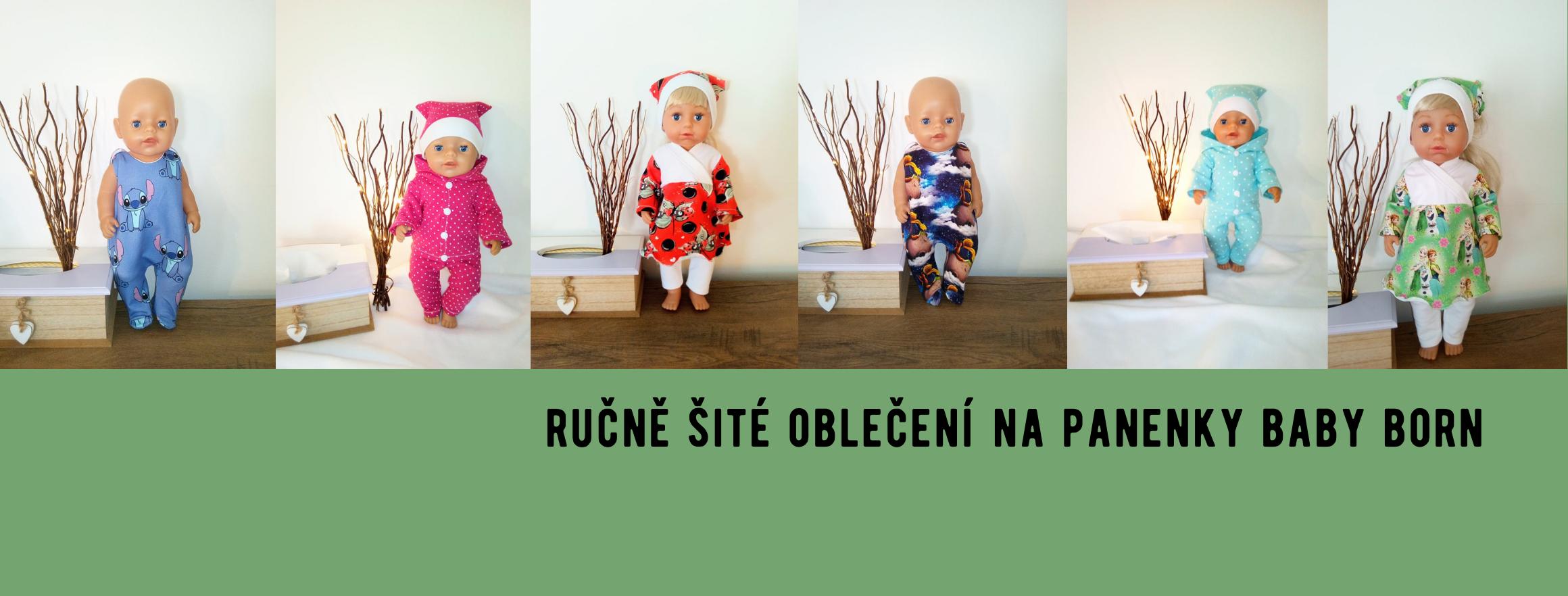 Oblečení na panenky Baby born