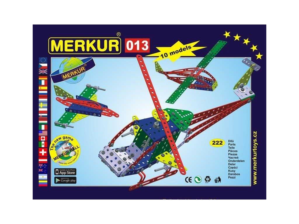 Merkur 013 Vrtulník - 222 dílů